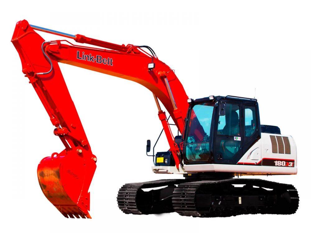 escavadeira link-belt 180X3E