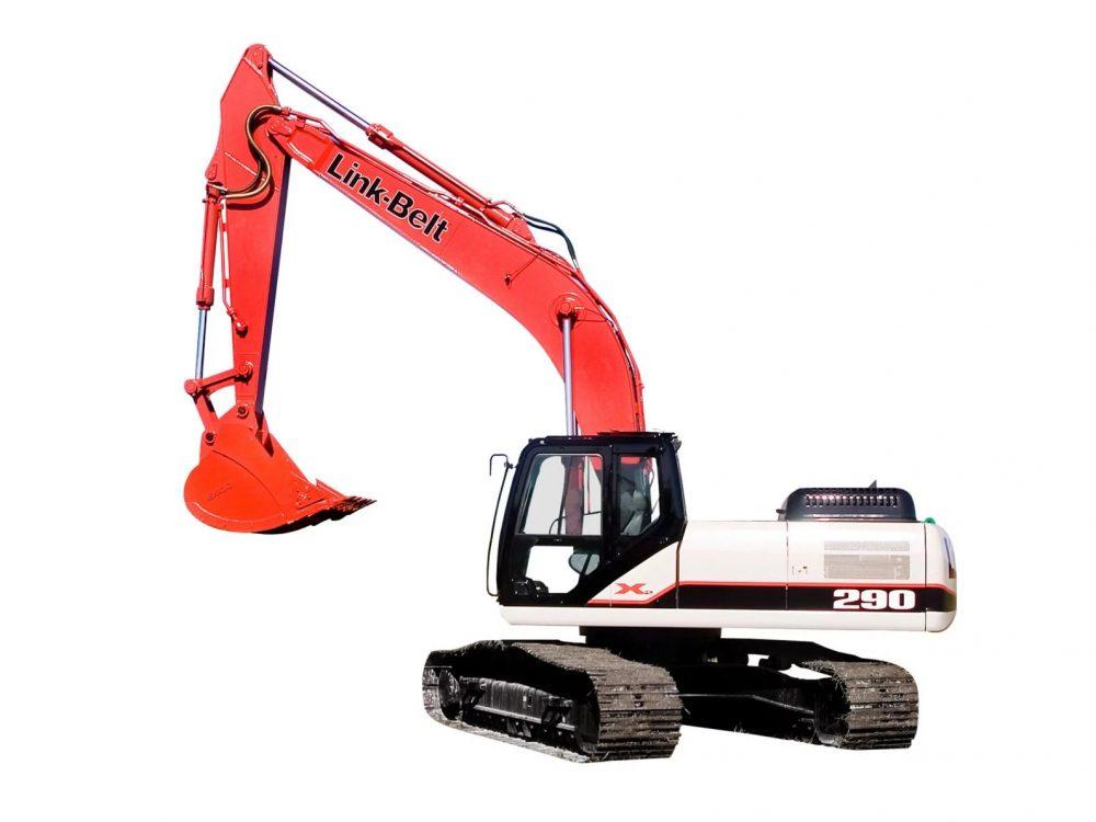 escavadeira link-belt 290X2